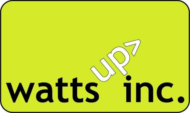 The Original Watts Up Logo